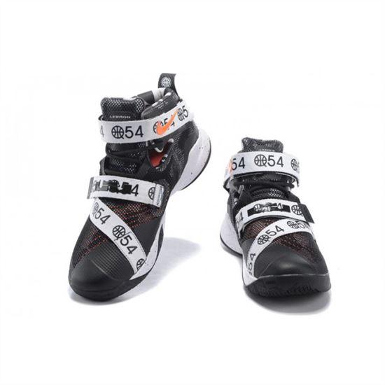 purchase cheap 8c673 b831b Mens Nike Zoom Lebron Soldier 9 LE Quai 54