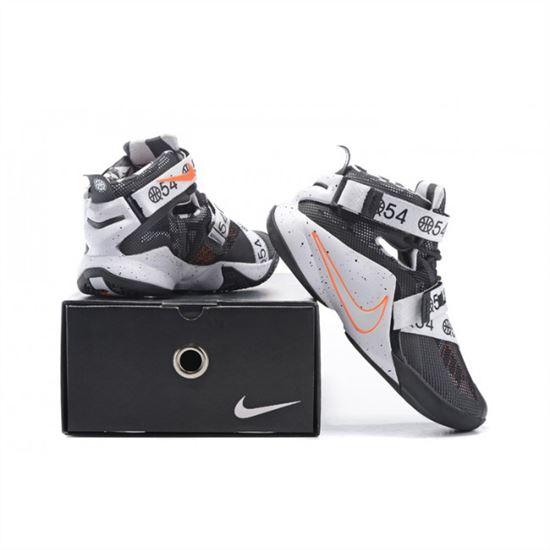 purchase cheap 628d4 b5566 Mens Nike Zoom Lebron Soldier 9 LE Quai 54