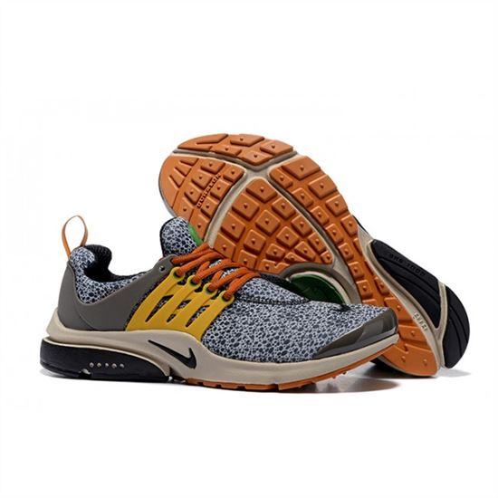 new style 23296 fbcb3 Nike Air Presto TP QS Black Yellow Green Mens Shoes