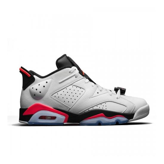 info for 3a087 973fe Authentic 304401-123 Air Jordan 6 Retro Low White Infrared 23-Black