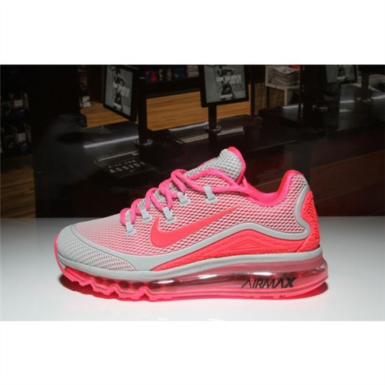 Nike Air Max 2018 Elite Gray Peach Womens Shoes, Nike
