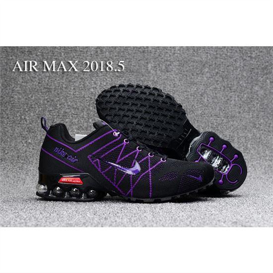 12ee61bb2c08 Womens Nike Air Max 2018.5 Shoes Black Purple