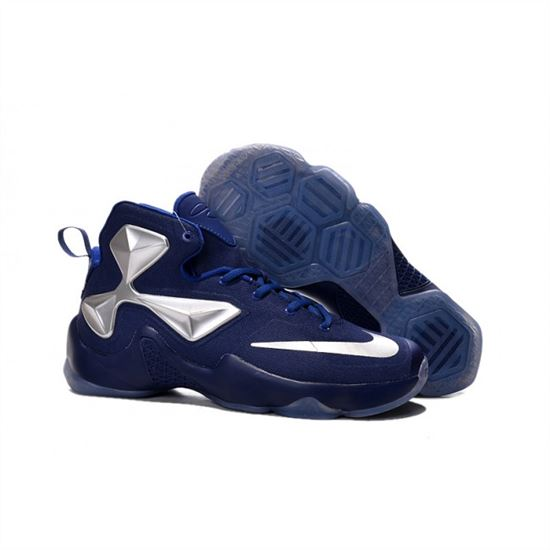 various colors f71db 05585 Womens Nike Lebron James 13 Blue Silver