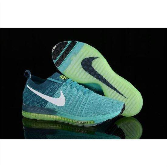 48426374912d Women Nike Zoom All Out Flyknit Turquoise Blue Shoes