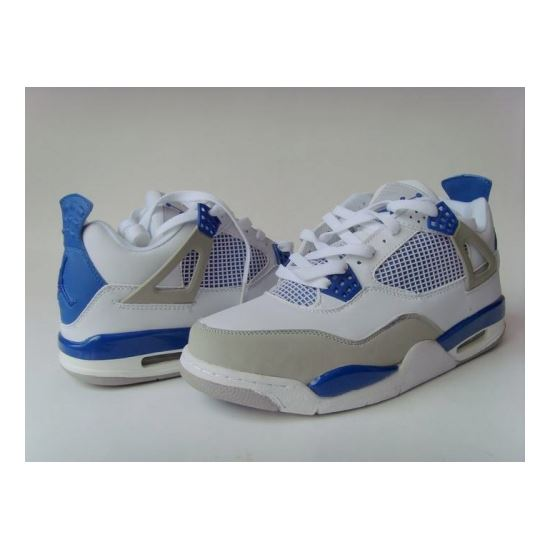 24173364ab8b 308498-141 Air Jordan 4 retro (gs) off white military blue neutral grey  A24012