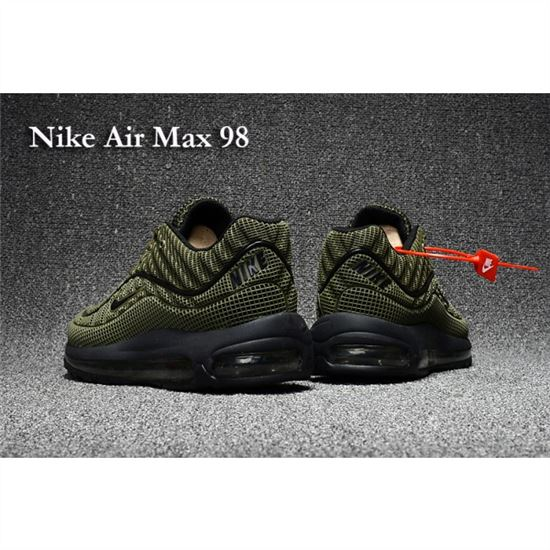 new product 6ff3f 28075 Nike Air Max 98 Men Shoes Olive Black