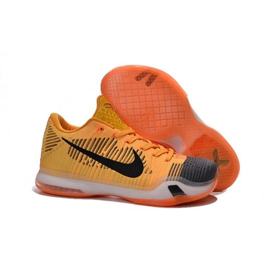 info for e016c d7855 Mens Nike Kobe 10 Flyknit Yellow Orange Grey, Nike Running Shoes For Men,  Nike Running Shoes Online