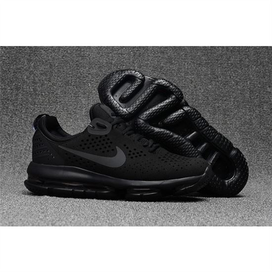 Nike Air Max DLX All Black Shoes For Men, Nike Running Shoes