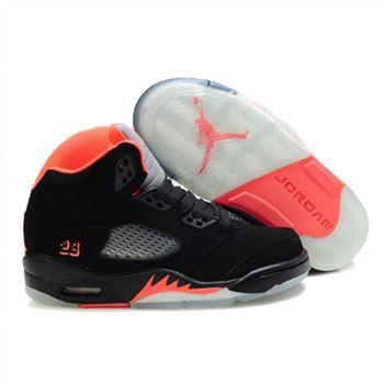 new concept 5a619 a0d3b Kids Air Jordan 5 Retro Black Pink Grey White