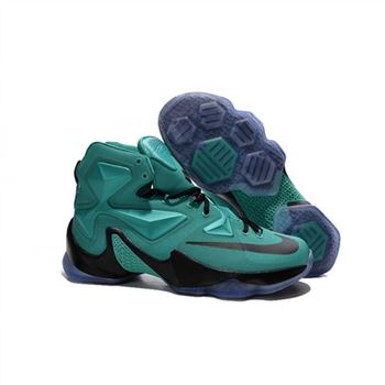 Mens Nike Lebron James 13 Green Black