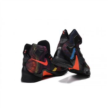 Mens Nike Lebron James 13 Black Orange