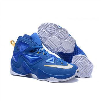 Mens Nike Lebron James 13 Blue White