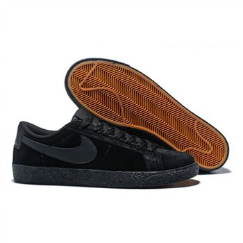 wholesale dealer 56a9d e2848 Nike SB Blazer Zoom Low Mens Skateboarding Shoes Black