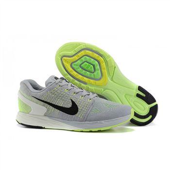 official photos 7916a 4d2c7 Nike Lunarglide 7 Mens Shoes Gray Green