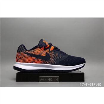 pretty nice 8b00b a0555 Nike LunarLaunch Shoes Navy Orange For Men