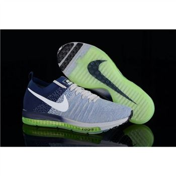 best sneakers 54f57 a573f Nike Zoom All Out Flyknit Blue Navy Shoes