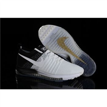 wholesale dealer 528e6 f46cb Nike Zoom All Out Flyknit White Black Shoes
