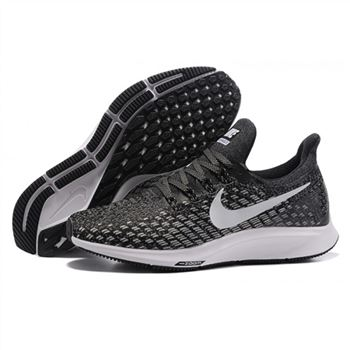 f0f76dcd90a1 Mens Nike Air Zoom Pegasus 35 Black White Shoes