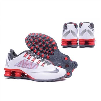 low priced 234af e3f22 Mens Nike Shox Avenue 808 Shoes White Red