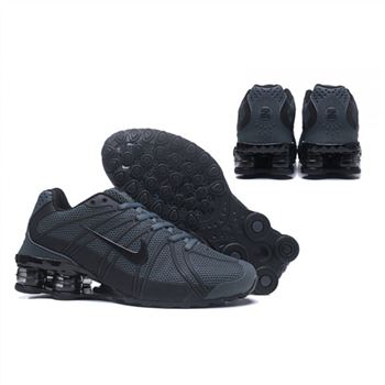 free shipping 71c3c cbb32 Mens Nike Shox Avernue 801 Blackish Green Shoes