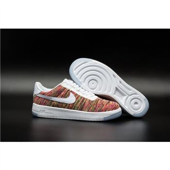 Mens Nike Flyknit Air Force 1 Low Colorful Shoes