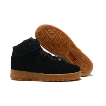 Nike Air Force 1 High Mens Black Shoes