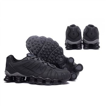 Mens Nike Shox TLX Shoes Black Gray