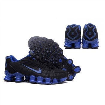 Mens Nike Shox TLX Shoes Black Royalblue