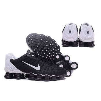 Mens Nike Shox TLX Shoes Black White