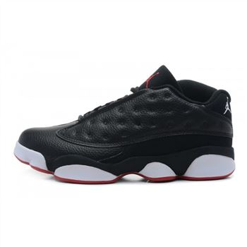310810-106 Air Jordan 13 Retro Low (black-red)