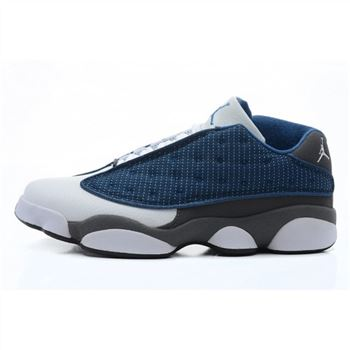 310810-401 Air Jordan 13 Retro Low (white dark blue)