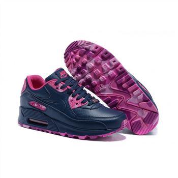 07d3e54f33e8 Womens Nike Air Max 90 QS Shoes Navy Red