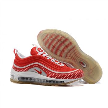 Nike Air Max 97 Red White Shoes For Women