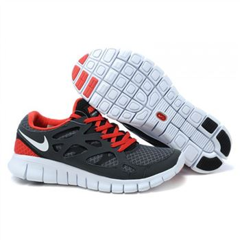 sports shoes cdd1a 82ea7 Nike Free Run 2 Womens Shoes Dark Gray Red