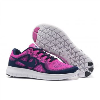 23adb23ef080 Nike Free Run 3.0 V5 Womens Shoes Peach Navy