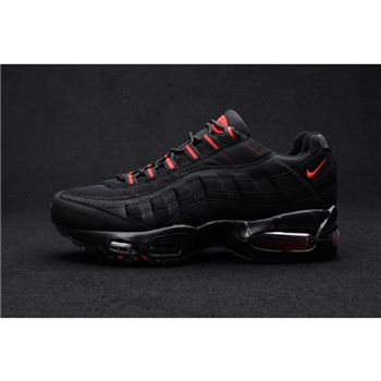 Air Max 95 Mens Shoes Black Red