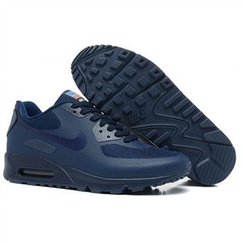 Men Nike Air Max 90 All Navy Shoes