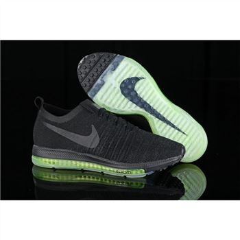 f8958a35f373 Women Nike Zoom All Out Flyknit Black Fluorescent Shoes