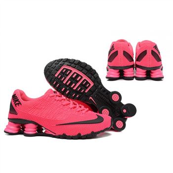 new product 40978 347a4 Womens Nike Shox Turbo 21 Shoes Hot Pink Black