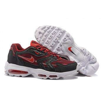 sports shoes 2293c 6f369 Nike Air Max 96 Claret Black White Shoes For Men