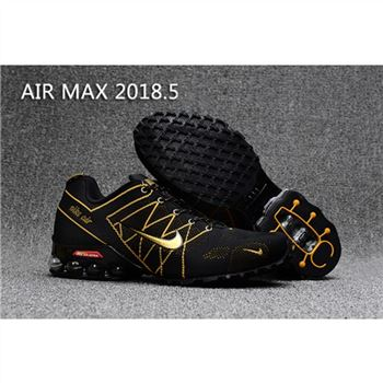 Mens Nike Air Max 2018.5 Shoes Black Gold