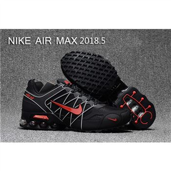 Mens Nike Air Max 2018.5 Shoes Black White Red
