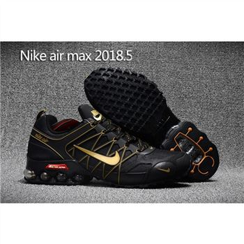 Mens Nike Air Max 2018.5 Shoes Black Yellow