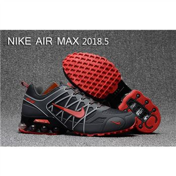 Mens Nike Air Max 2018.5 Shoes Gray Red Black