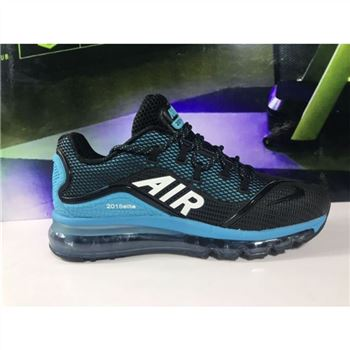 Nike Air Max 2018 Elite Black Blue Mens Shoes
