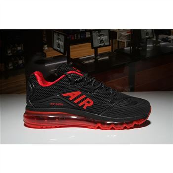 Nike Air Max 2018 Elite Black Red Mens Shoes