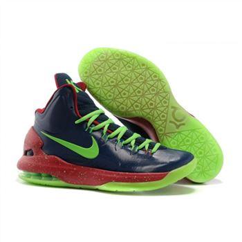 5d260d21917f Mens Nike Zoom KD 5 Black Green Red