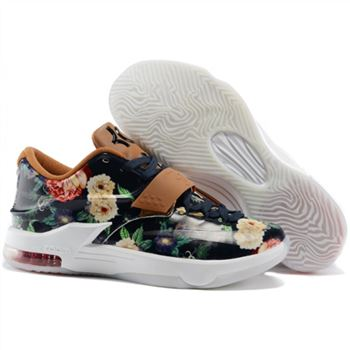 the latest e3439 835bc Mens Nike KD 7 Basketball Shoes EXT Floral